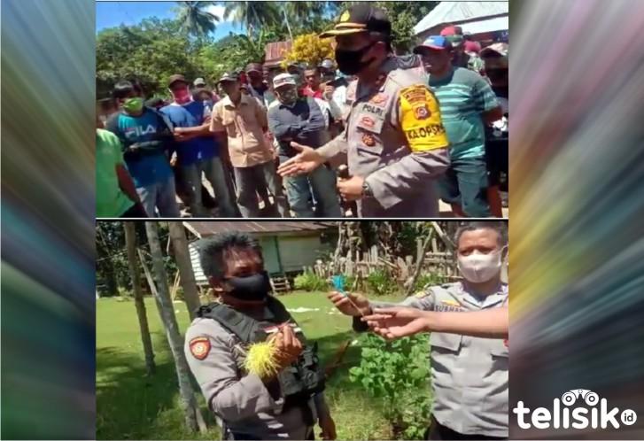 Warga Dua Desa di Muna Saling Serang Pakai Busur