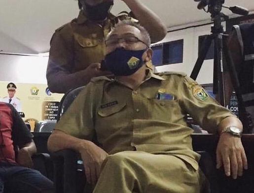 Pegawainya Positif COVID-19, Kantor Inspektorat Sultra Langsung Ditutup
