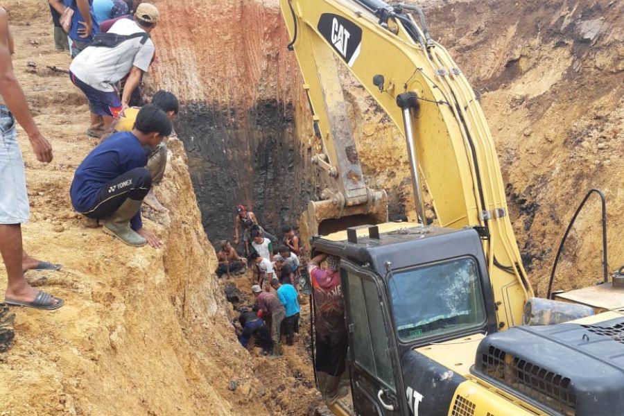 11 Orang Meninggal Akibat Tanah Longsor di Muara Enim