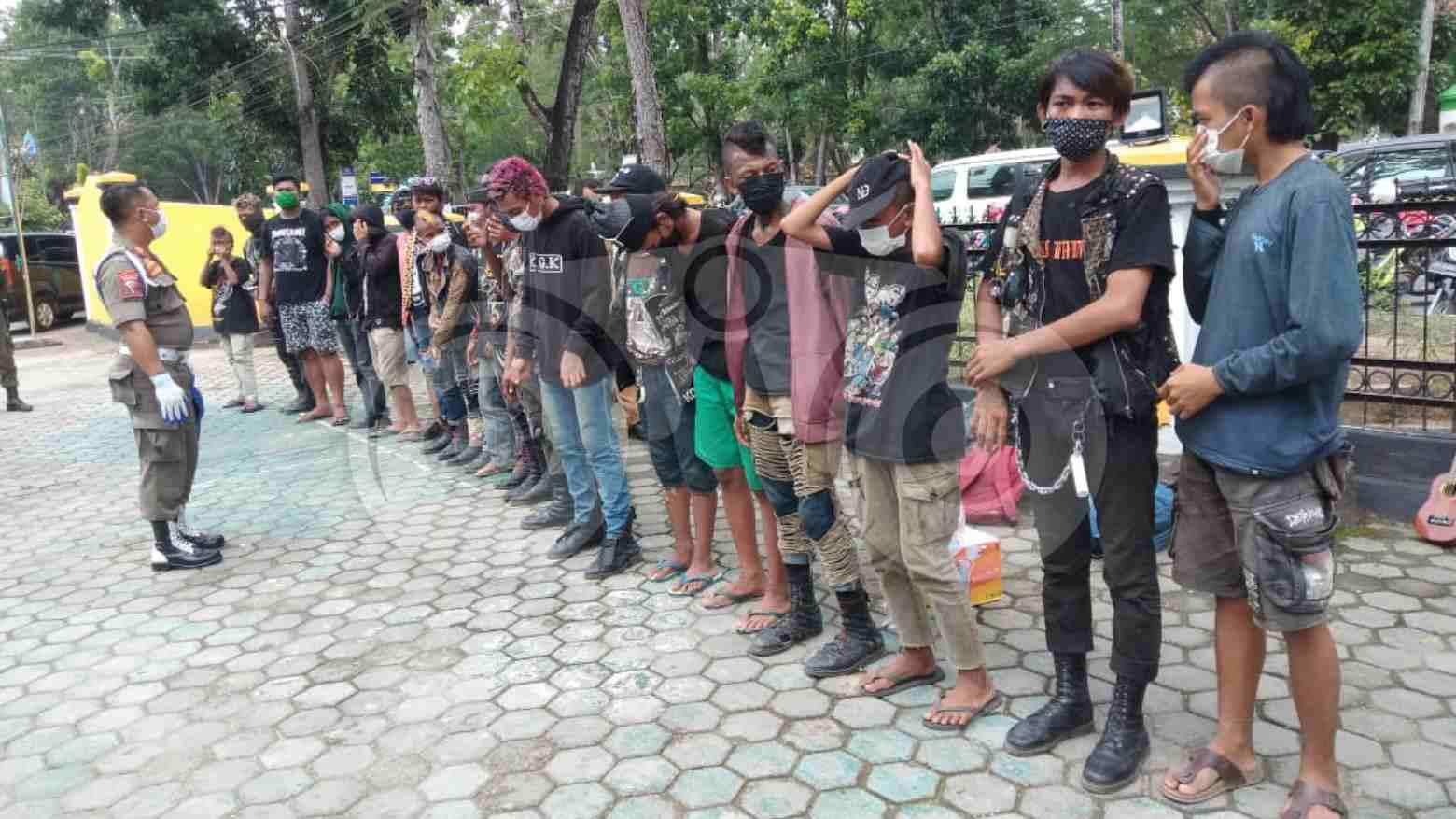 Anak Punk Kedapatan Belum Pulang di Daerahnya Bakal Didenda 50 Juta dan Kurungan 6 Bulan