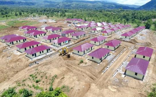 WNI Eks Pengungsi Timor Timur di Belu Dapat Bantuan Rumah Layak Huni